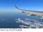 Купить «Под крылом самолёта», фото № 6573643, снято 17 июня 2014 г. (c) Шумилов Владимир / Фотобанк Лори