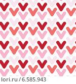 Бесшовный фон с разноцветными галочками. Стоковая иллюстрация, иллюстратор Типляшина Евгения / Фотобанк Лори