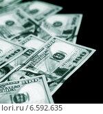 Купить «Американские доллары», фото № 6592635, снято 7 августа 2013 г. (c) ElenArt / Фотобанк Лори
