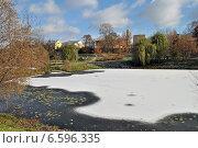 Купить «Свибловские пруды в Москве осенью», эксклюзивное фото № 6596335, снято 23 октября 2014 г. (c) lana1501 / Фотобанк Лори