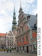 Купить «Рига. Исторический центр», эксклюзивное фото № 6597503, снято 11 октября 2014 г. (c) Svet / Фотобанк Лори