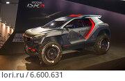 Купить «Автомобиль PEUGEOT 2008 DKR на выставке ММАС 2014», фото № 6600631, снято 3 сентября 2014 г. (c) Алексей Назаров / Фотобанк Лори
