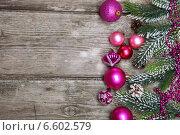 Купить «Новогодние украшения», фото № 6602579, снято 27 сентября 2014 г. (c) Елена Блохина / Фотобанк Лори
