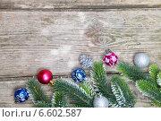 Новогодние украшения. Стоковое фото, фотограф Елена Блохина / Фотобанк Лори