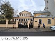 Пятницкая улица, дом 15 (Бывшая городская усадьба XVIII-XIX веков). Москва, эксклюзивное фото № 6610395, снято 31 октября 2014 г. (c) lana1501 / Фотобанк Лори