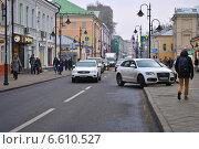 Купить «Пятницкая улица - пешеходная зона. Москва», эксклюзивное фото № 6610527, снято 31 октября 2014 г. (c) lana1501 / Фотобанк Лори