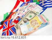 Валюта разных стран (2014 год). Редакционное фото, фотограф Мария Деркунская / Фотобанк Лори