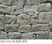 Каменная крепостная стена. Стоковое фото, фотограф Анна Братинкова / Фотобанк Лори