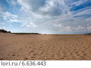 Прогулка по песчаным дюнам (2014 год). Стоковое фото, фотограф Катерина Вахе / Фотобанк Лори