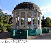 Ротонда в парке, Москва. Стоковое фото, фотограф Сергей Дерябкин / Фотобанк Лори