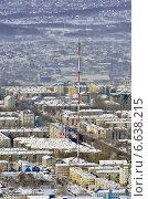 Купить «О.Сахалин. г.Южно-Сахалинск. Телевышка.», фото № 6638215, снято 15 февраля 2014 г. (c) shantaline / Фотобанк Лори