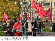 Купить «Празднование Дня народного единства. Калининград», фото № 6639119, снято 4 ноября 2014 г. (c) Сергей Куров / Фотобанк Лори