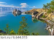 Купить «Байкал. Летний вечер на острове Ольхон», фото № 6644015, снято 19 июня 2014 г. (c) Виктория Катьянова / Фотобанк Лори