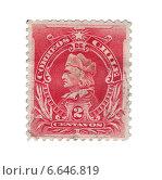 Купить «Почтовая марка Чили с портретом первооткрывателя Америки Христофора Колумба. 1902 год», иллюстрация № 6646819 (c) Евгений Ткачёв / Фотобанк Лори