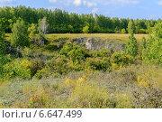 Купить «Устиновский каньон, Южный Урал», фото № 6647499, снято 4 апреля 2020 г. (c) Зезелина Марина / Фотобанк Лори
