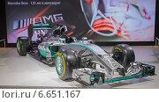 Купить «Болид Mercedes AMG Petronas F1 Team на ММАС 2014», фото № 6651167, снято 3 сентября 2014 г. (c) Алексей Назаров / Фотобанк Лори
