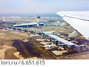 Купить «Аэропорт Нью-Йорка Джон Кеннеди», фото № 6651615, снято 20 мая 2013 г. (c) Морозова Татьяна / Фотобанк Лори