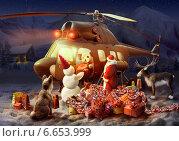 Лапландские гонцы. Стоковая иллюстрация, иллюстратор Sofya Demskaya / Фотобанк Лори