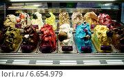 Большой выбор мороженого (2014 год). Редакционное фото, фотограф Алла Овчинникова / Фотобанк Лори