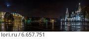 Ярославль. Советская площадь (бывшая Ильинская) (2014 год). Стоковое фото, фотограф Алексей Мельников / Фотобанк Лори