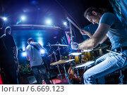 Купить «Drummer», фото № 6669123, снято 30 октября 2014 г. (c) Андрей Армягов / Фотобанк Лори