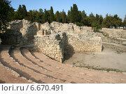 Купить «Античный театр в Херсонесе», эксклюзивное фото № 6670491, снято 3 сентября 2014 г. (c) Щеголева Ольга / Фотобанк Лори
