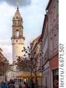 Германский город Баутцен (2014 год). Редакционное фото, фотограф Евгений Питомец / Фотобанк Лори