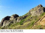 Купить «Вулканические образования», фото № 6673683, снято 5 июля 2013 г. (c) Евгений Ткачёв / Фотобанк Лори