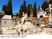 Купить «Montjuic Cemetery», фото № 6675527, снято 20 июля 2014 г. (c) Яков Филимонов / Фотобанк Лори