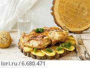 Мясо молодого цыпленка. Стоковое фото, фотограф Елена Захарченко / Фотобанк Лори
