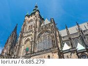 Купить «Собор Святого Вита в Праге, Чехия», фото № 6685279, снято 4 июля 2014 г. (c) Ласточкин Евгений / Фотобанк Лори