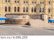 Купить «Лобное место на Красной площади. Москва», эксклюзивное фото № 6696259, снято 26 февраля 2014 г. (c) Владимир Князев / Фотобанк Лори