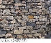Стена из обломков камня и кирпича. Стоковое фото, фотограф Лысенко Владимир / Фотобанк Лори