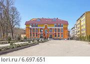 Здание регистрационной палаты в Пскове (2013 год). Стоковое фото, фотограф Валентина Троль / Фотобанк Лори