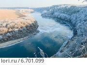 Река Дон поздней осенью. Стоковое фото, фотограф Владимир Судник / Фотобанк Лори