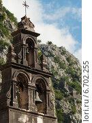 Колокольня в горах. Стоковое фото, фотограф Евгений Макеев / Фотобанк Лори