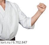 Удар в каратэ. Стоковое фото, фотограф Александр Гречин / Фотобанк Лори