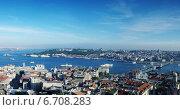 Купить «Panoramic view of Istanbul, Turkey», фото № 6708283, снято 19 апреля 2019 г. (c) Stockphoto / Фотобанк Лори