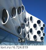 Купить «Фасад с иллюминаторами», иллюстрация № 6724819 (c) Юрий Бельмесов / Фотобанк Лори