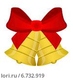 Купить «Новогодние праздничные колокольчики», иллюстрация № 6732919 (c) Мастепанов Павел / Фотобанк Лори
