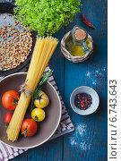 Ингредиенты для приготовления итальянской пасты. Стоковое фото, фотограф Светлана Витковская / Фотобанк Лори