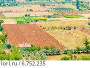Участки земли под сельское хозяйство. Стоковое фото, фотограф Константин Лабунский / Фотобанк Лори