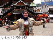 Масленица в Измайловском кремле (2014 год). Редакционное фото, фотограф Жанна Кедрова / Фотобанк Лори