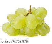 Купить «Green grape bunch», фото № 6762879, снято 23 июля 2013 г. (c) Natalja Stotika / Фотобанк Лори