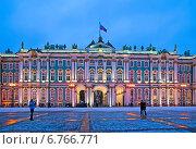 Купить «Государственный Эрмитаж. Санкт-Петербург», фото № 6766771, снято 6 декабря 2014 г. (c) Румянцева Наталия / Фотобанк Лори