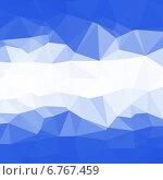 Купить «Абстрактный геометрический фон с треугольниками», иллюстрация № 6767459 (c) Фрибус Екатерина / Фотобанк Лори
