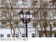 Уличный фонарь (2014 год). Стоковое фото, фотограф Александр / Фотобанк Лори