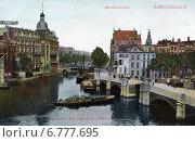 Купить «Канал Binnen Amstel. Амстердам. Голландия», фото № 6777695, снято 27 мая 2019 г. (c) Юрий Кобзев / Фотобанк Лори