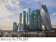 Москва. Москва-Сити (2014 год). Редакционное фото, фотограф Дмитрий Сушкин / Фотобанк Лори