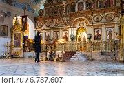 Купить «Свято-Воскресенский мужской монастырь. г. Самара», фото № 6787607, снято 16 октября 2018 г. (c) FotograFF / Фотобанк Лори